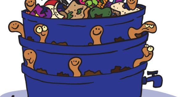 Worm clipart compost heap 1  Down Chomp North