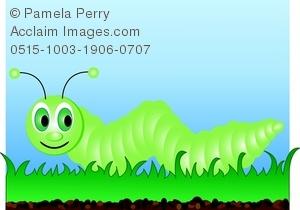 Worm clipart crawl Art the Crawling Caterpillar Cartoon