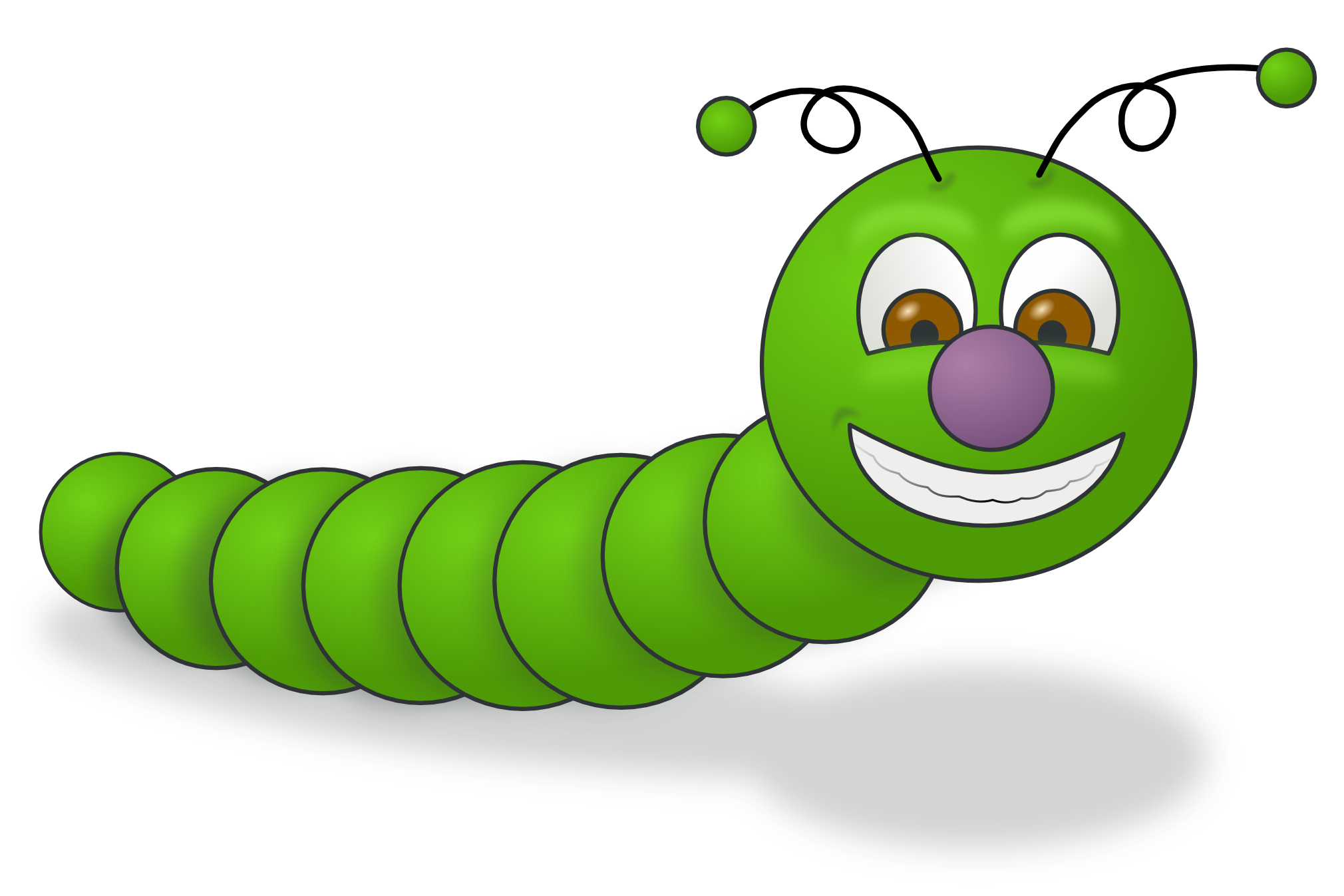 Bug clipart worm Cute  on inchworm Clip