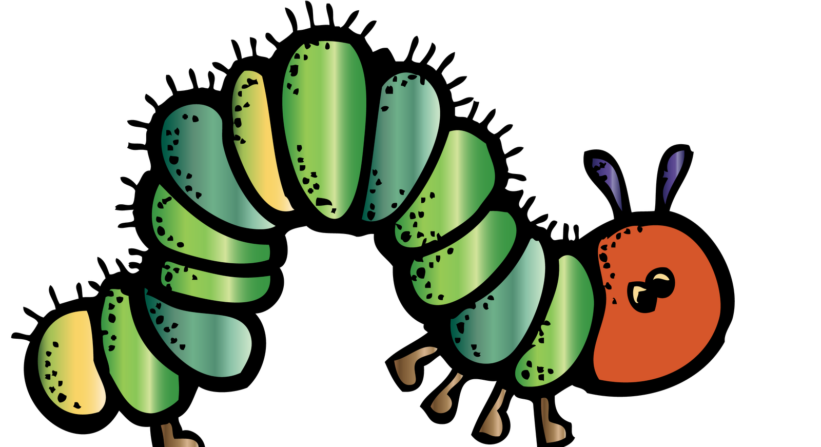 Caterpillar clipart school math Hungry Journal Caterpillar  KinderKids:
