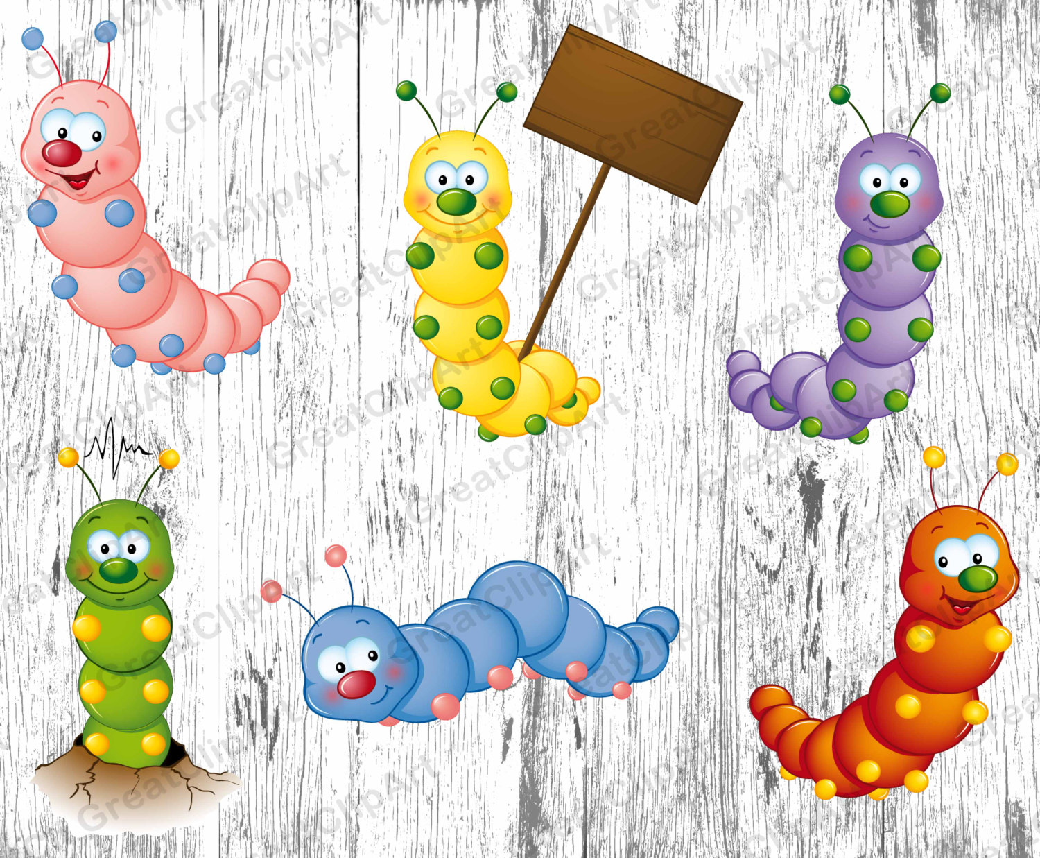 Bugs clipart caterpillar Insects kids 6 Kids Animals