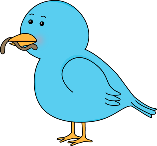 Bluebird clipart early bird Eating Bird a Art Eating