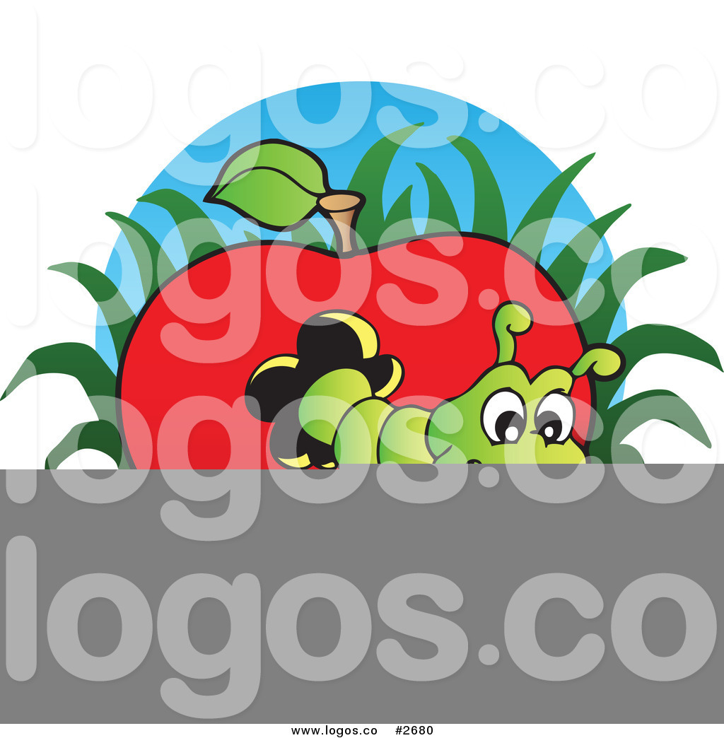 Worm clipart logo #3
