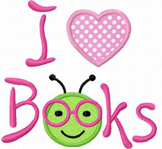 Worm clipart love Download Pinterest 508 Bookworm Embroidery