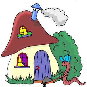 Worm clipart mashroom Free  House emf Worm