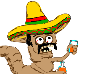 Worm clipart mexican drinking Mexican worm It's a drinking