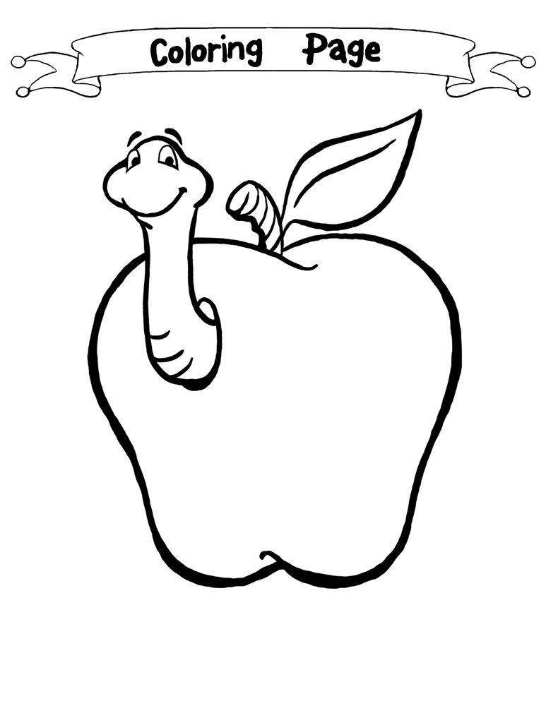 Color clipart worm 18 Worm – Apple 101
