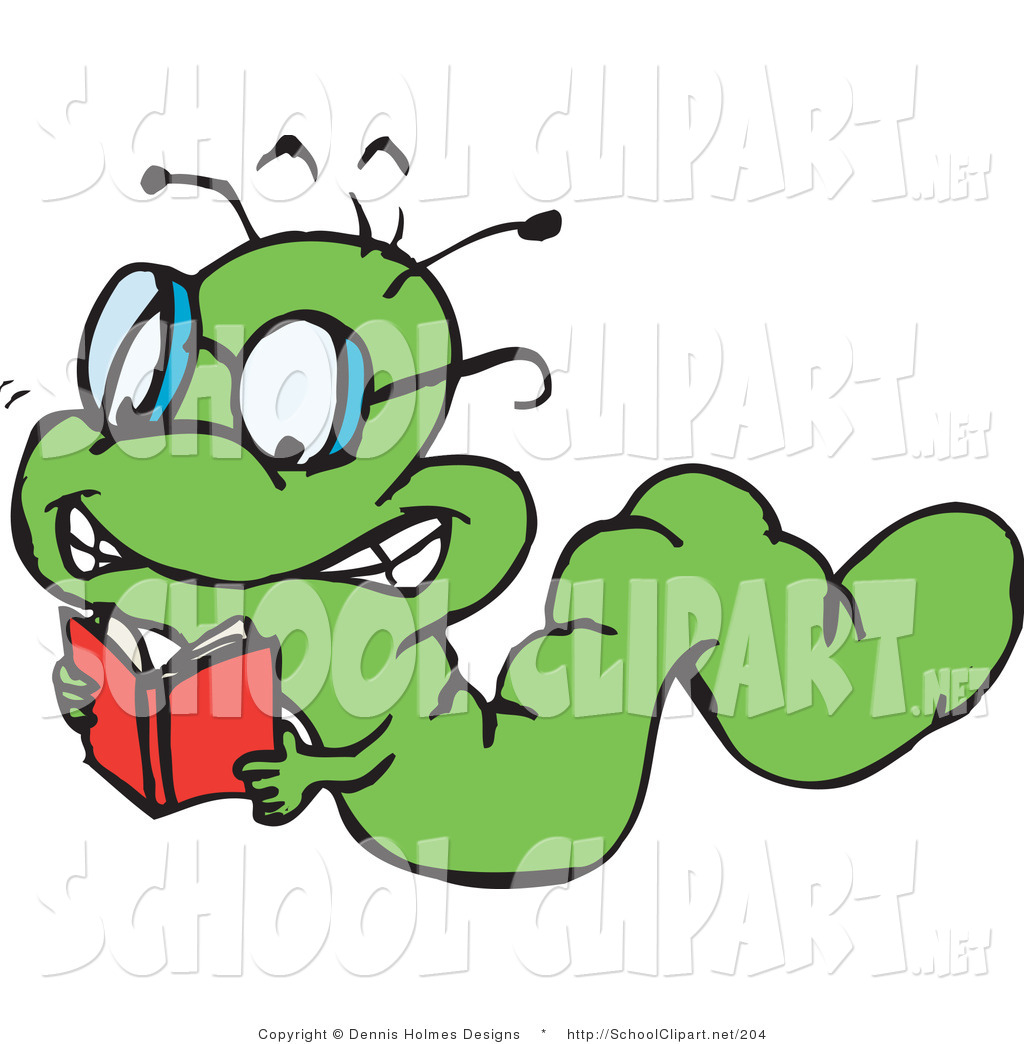 Bug clipart worm Clip a by Reading of