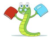 Worm clipart smart #4