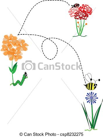 Worm clipart spring Sketch springtime with Vector 2012