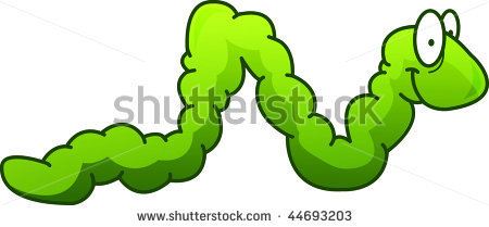 Worm clipart wiggly #4