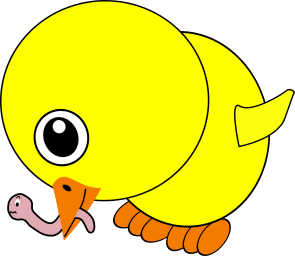 Worm clipart yellow Worm Clip Chick Art Chicken