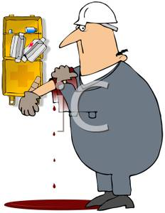 Wound clipart injury Injured Job Whose Royalty of