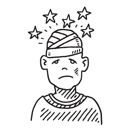 Wound clipart injury Injury Clip Art Image Head