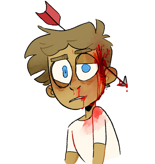Wound clipart ouch Wound injury Head wound ouch!