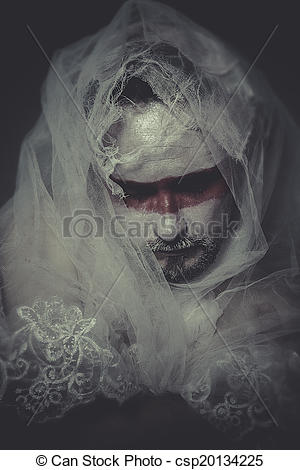 Wound clipart pain and suffering  veil veil lace Stock