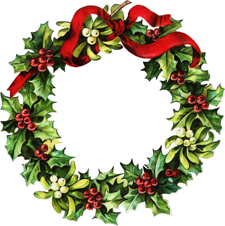 Holydays clipart christmas wreath Images Wreath Victorian Clipart Clipart