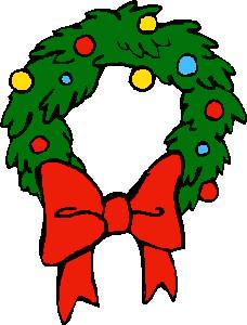 Wreath clipart Christmas Christmas Clipart art Wreath
