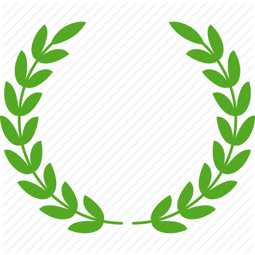 Wreath clipart achievement award Glory Achievement green icon glory