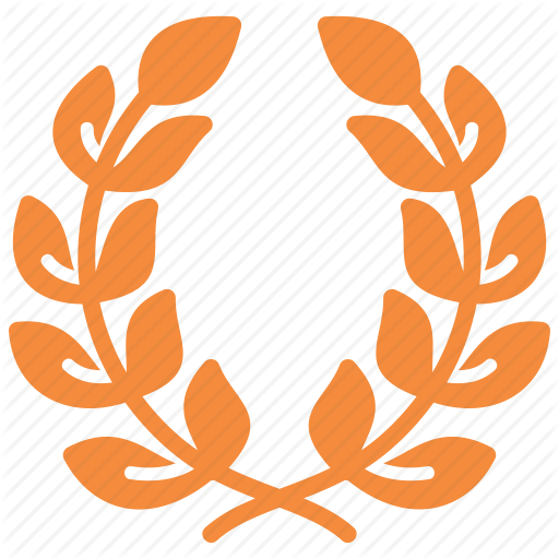 Wreath clipart achievement award Achievement winner place wreath first