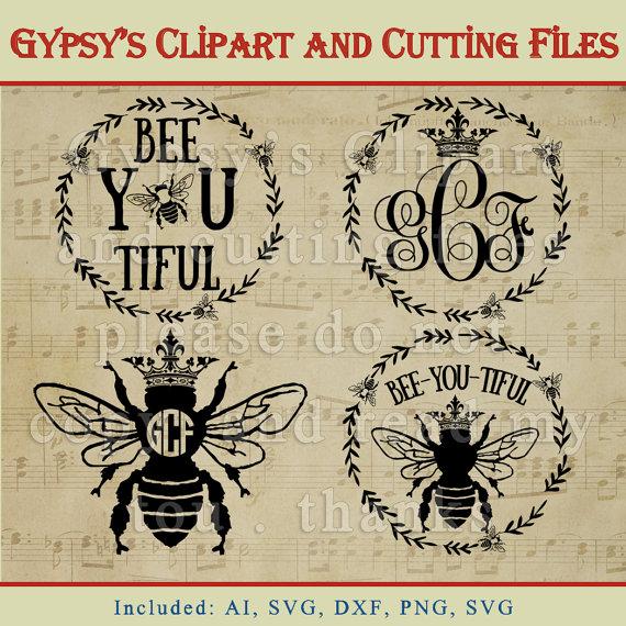 Wreath clipart bee Crown item? Queen svg bee
