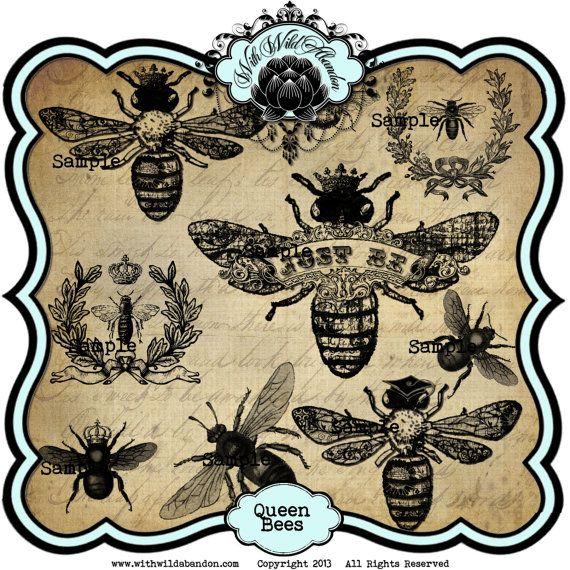 Wreath clipart bee Crown Instant Queen Wreath 7