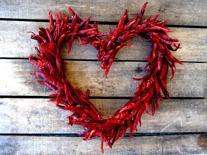 Wreath clipart chili pepper Hot Chili Red Chili