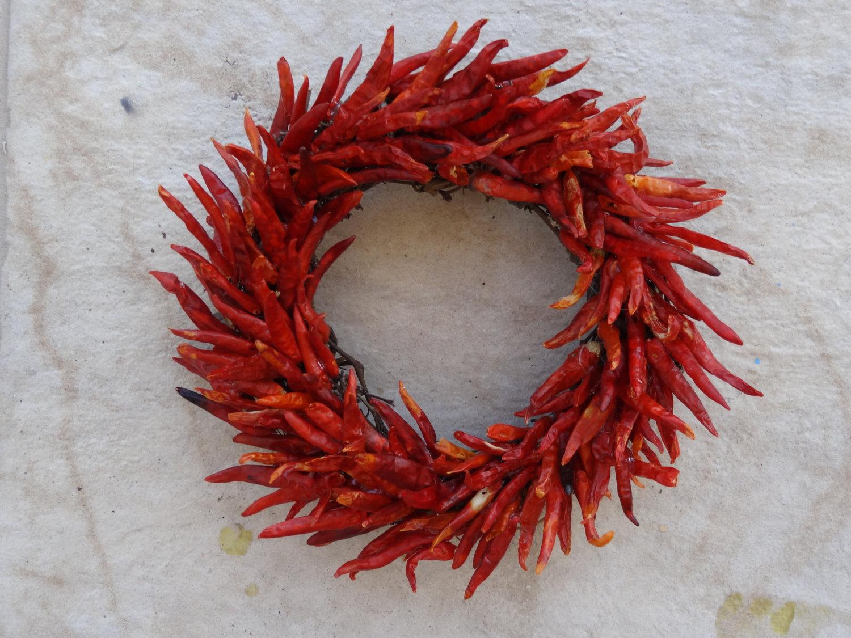 Wreath clipart chili pepper Pepper Hot Chili Dried Wreath