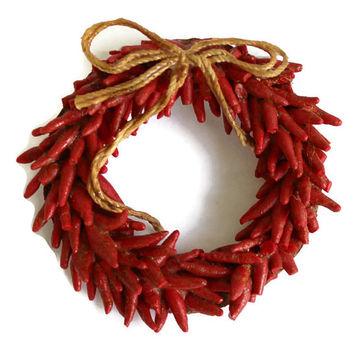 Wreath clipart chili pepper Chili on Brooch Hot Shop