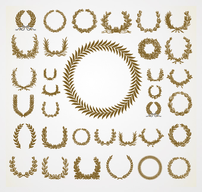 Wreath clipart classy Olive Wreaths vector Olive of