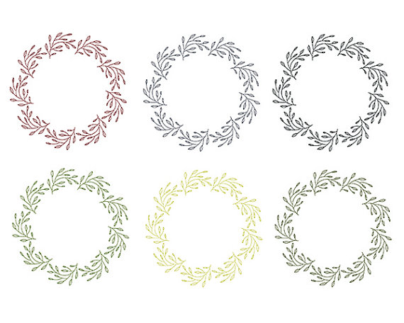Wreath clipart digital Clipart Digital Design Scrapbooking Wreath