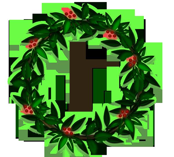 Wreath clipart evergreen garland Garland Evergreen Cliparts Clipart Cliparts