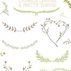 Wreath clipart fancy Fancy wreath collection Fancy wheat