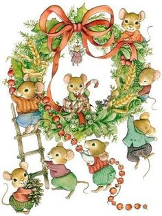 Wreath clipart fancy  ratoncitos con Gallery /