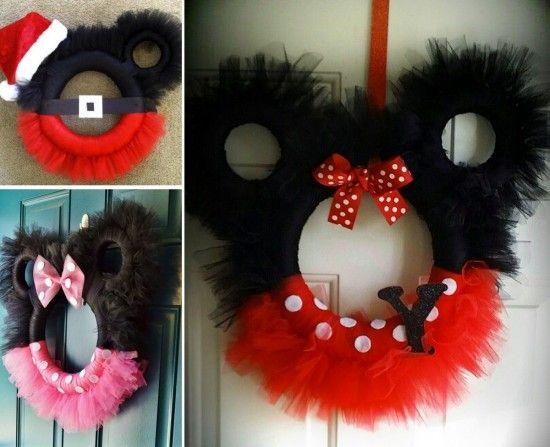 Wreath clipart mouse Ideas Mickey the wreath wreath