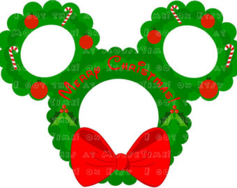Wreath clipart mouse Mouse Etsy the Wreath mouse