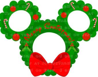 Wreath clipart mouse Ears the ON wreath Mickey