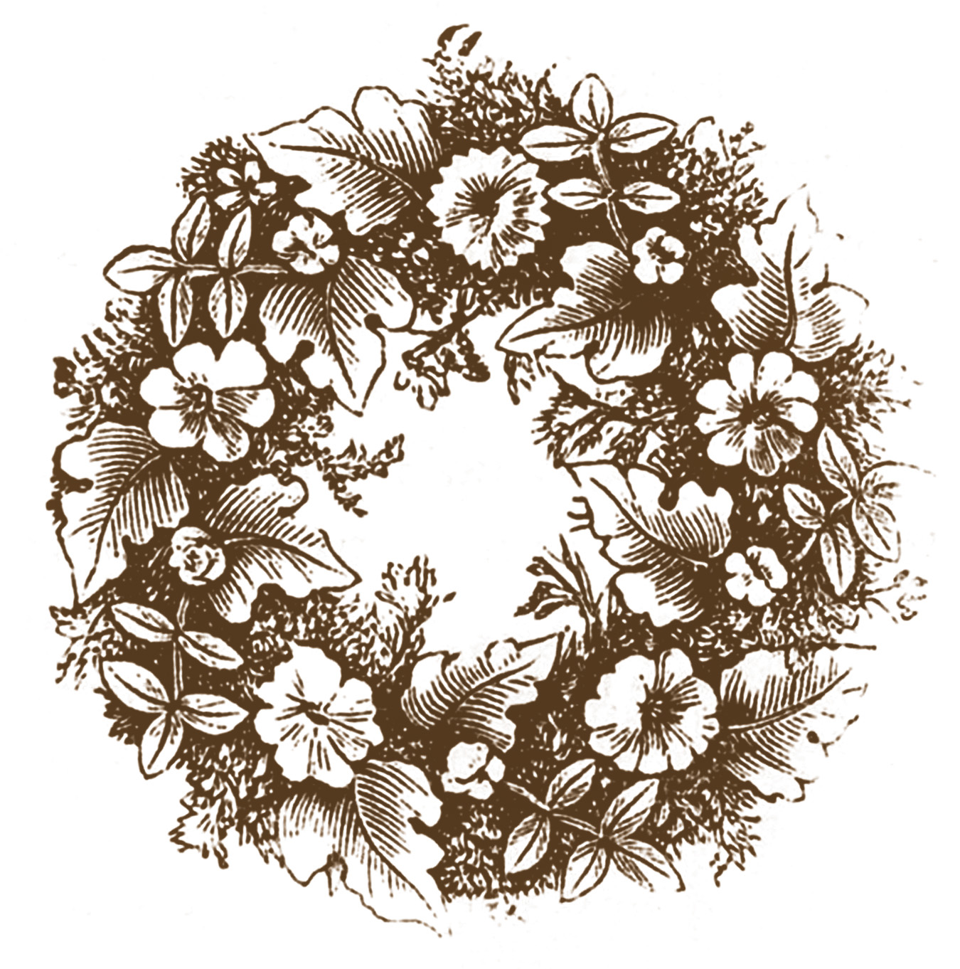 Wreath clipart old pen Click on Vintage Images Clip