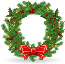Wreath clipart santa You clipart cake Blog Various