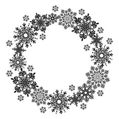 Wreath clipart snowflake Wreath yds Siver 5 Sheer