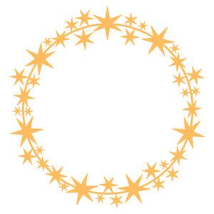 Wreath clipart star Wreath Silhouette frame Design star