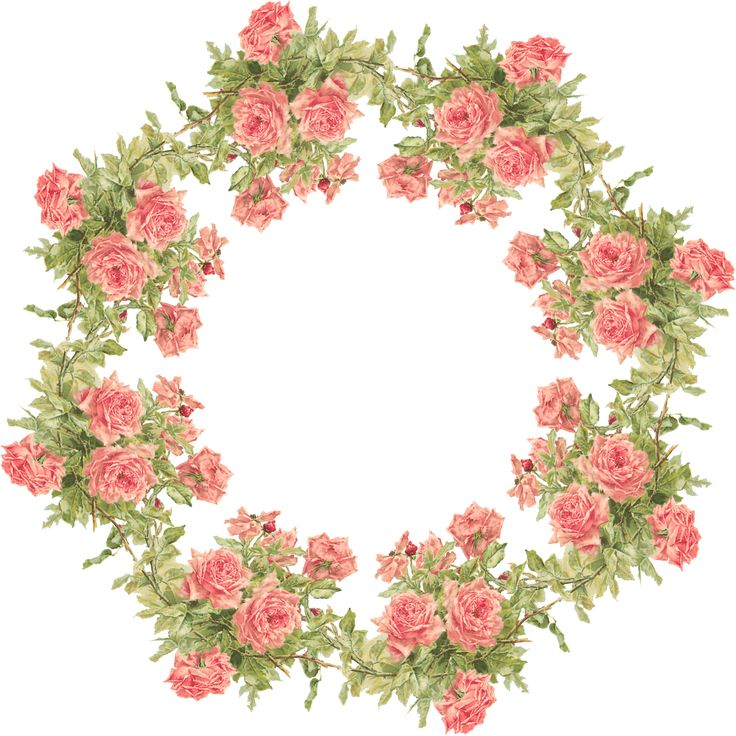 Wreath clipart victorian christmas Images Vintage WREATH 568 CLIPART