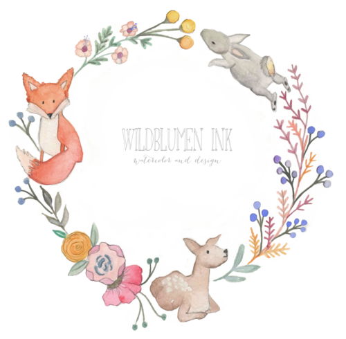 Wreath clipart woodland Wreath baby Nursery — Art