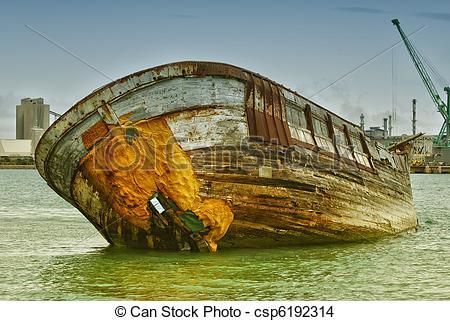 Wreck clipart boat Forgotten wreck ship Historical Abandoned