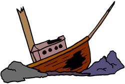Wreck clipart boat Nautical Free Shipwreck Anchor; Clipart