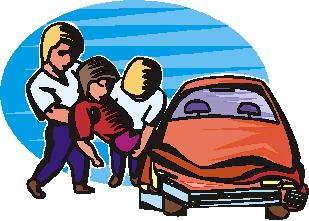 Wreck clipart car collision #7