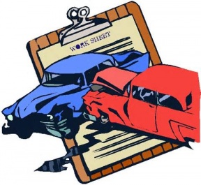 Wreck clipart car collision #4