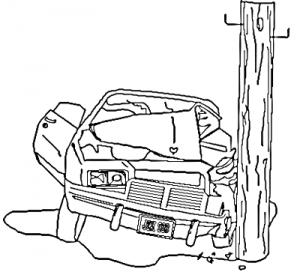 Wreck clipart car collision #3