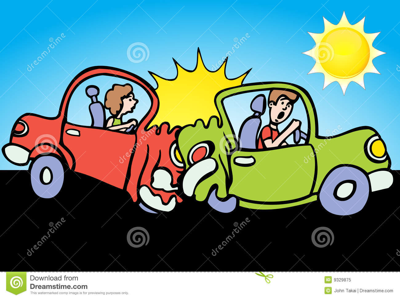 Crash clipart crashed car Rear Download Clipart Rear Car