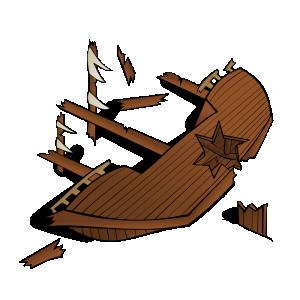 Wreck clipart cartoon Clip Art Map Wreck RPG